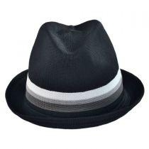 Stripe Player Fabric Fedora Hat