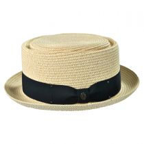 Toyo Straw Braid Pork Pie Hat alternate view 16