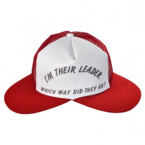 Jacobson - I'm Their Leader? Dual Bill Baseball Cap