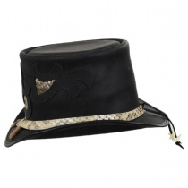 Rio Leather Topper Hat