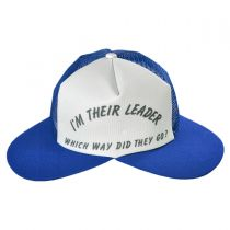 B2B Jacobson I'm Their Leader Dual Bill Baseball Cap