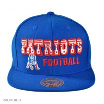 New England Patriots NFL Blocker Snapback Baseball Cap