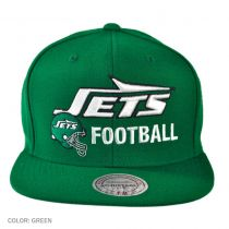 New York Jets NFL Blocker Snapback Baseball Cap