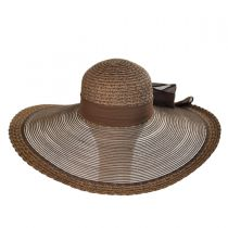 Sheer Brim Swinger Hat
