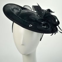 Sequin Dish Fascinator