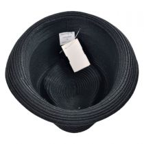 Rasta Toyo Straw Diamond Crown Fedora Hat alternate view 12