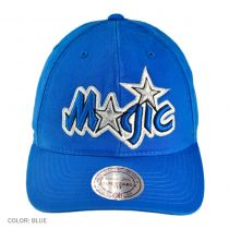 Orlando Magic NBA Vintage Slouch Leather Strapback Baseball Cap