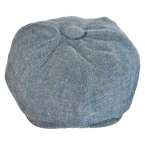 Chambray Newsboy Cap