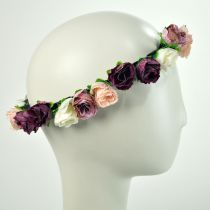 Roses Headband and Hat Band alternate view 3