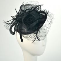 Three Flower Fascinator Headband
