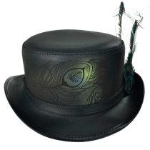 Strut Leather Top Hat