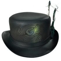 Strut Leather Top Hat in