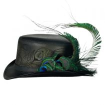 Strut Peacock Top Hat