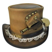 Pistol Leather Top Hat in