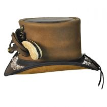 Pistol Leather Top Hat