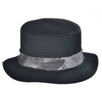 Flash Toyo Straw Boater Hat in
