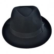 B2B Jaxon Detroit Wool Felt Trilby Fedora Hat alternate view 2