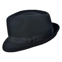 B2B Jaxon Detroit Wool Felt Trilby Fedora Hat alternate view 3