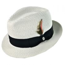 B2B Jaxon Toyo Braid Fedora Alternate View