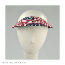 USA Flag Midsize Visor alternate view 2