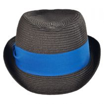 Kid's Dapper Toyo Straw Fedora Hat