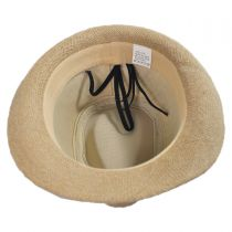 Kid's Jute Fedora Hat