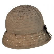 Split Brim Cloche Hat