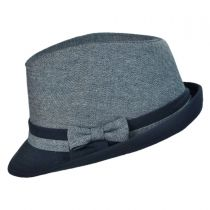 Double Bow Fedora Hat - Youth