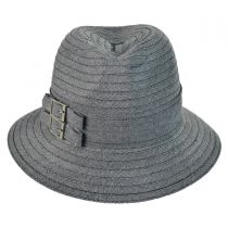 Two Buckle Fedora Packable