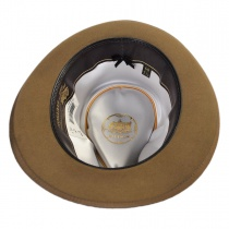 Whippet Fur Felt Fedora Hat