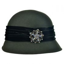 Brooche Cloche Hat
