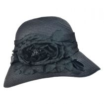 Silk Rose Cloche