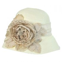 Silk Rose Cloche