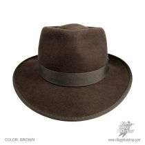 Indiana Jones Kids Crushable Wool Fedora Hat