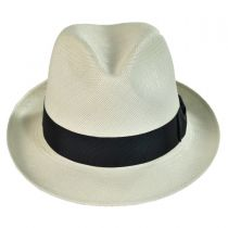 Grade 8 Snap Brim Panama Hat