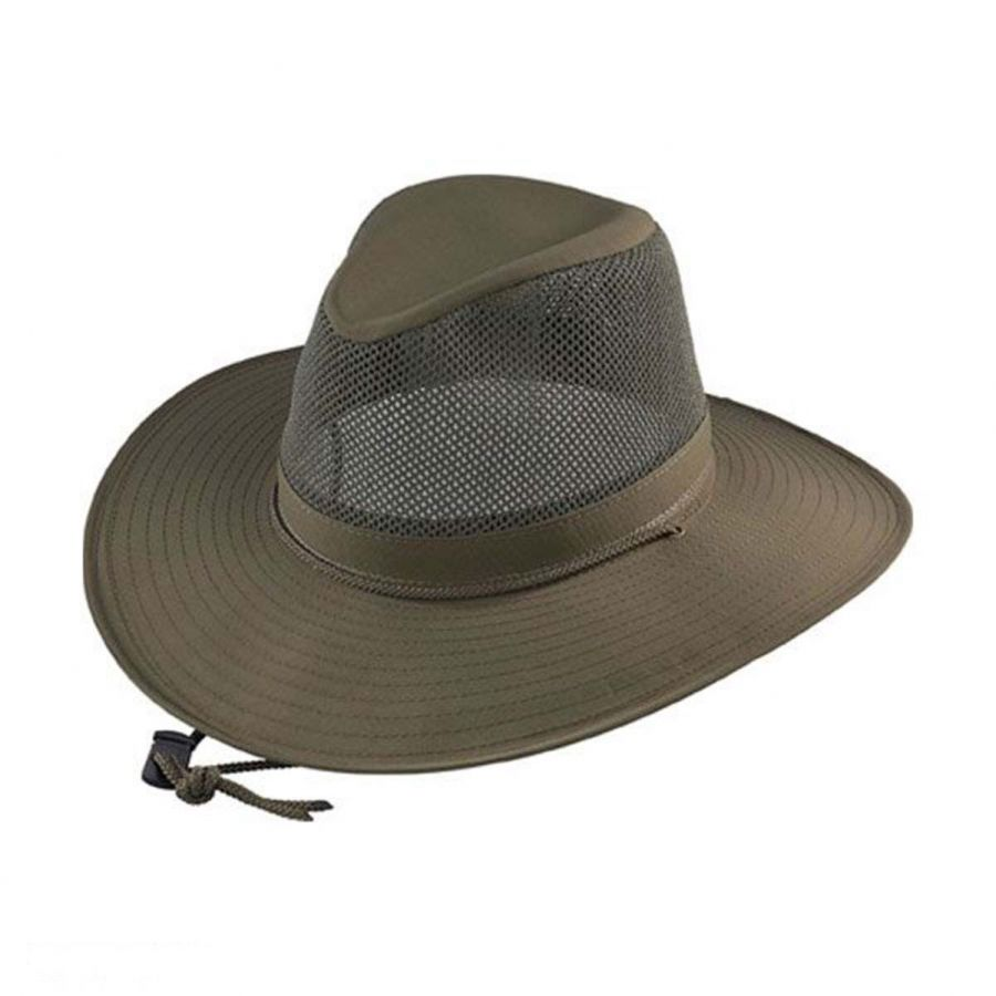 A sun hat has a brim and is usually made of sun protective fabric. When comparing men's sun hats, be sure to consider the degree of UV protection as well as the amount of coverage provided. Baseball caps only protect the face while cape-styled hats shade the face, ears, and neck.