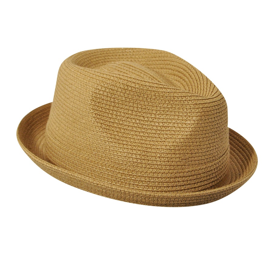 Bailey Billy Toyo Straw Braid Fedora Hat Stingy Brim   Trilby ddc58ddac