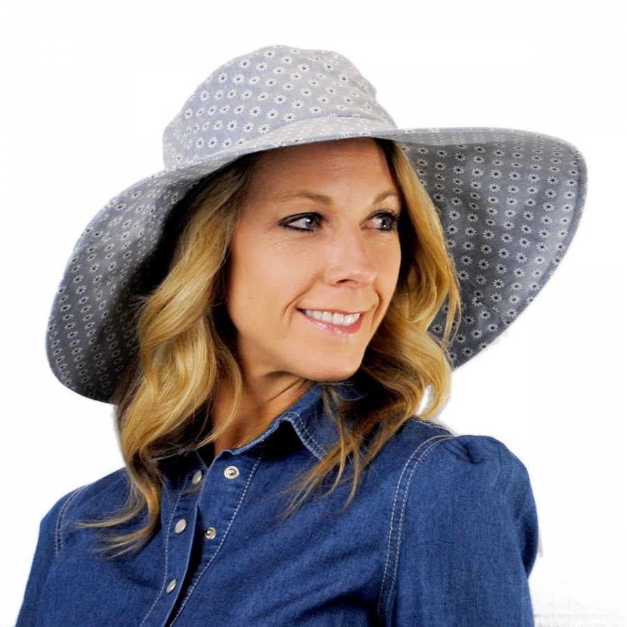 sur la tete Provence Cotton Sun Hat Sun Hats c5eb9efdfaf