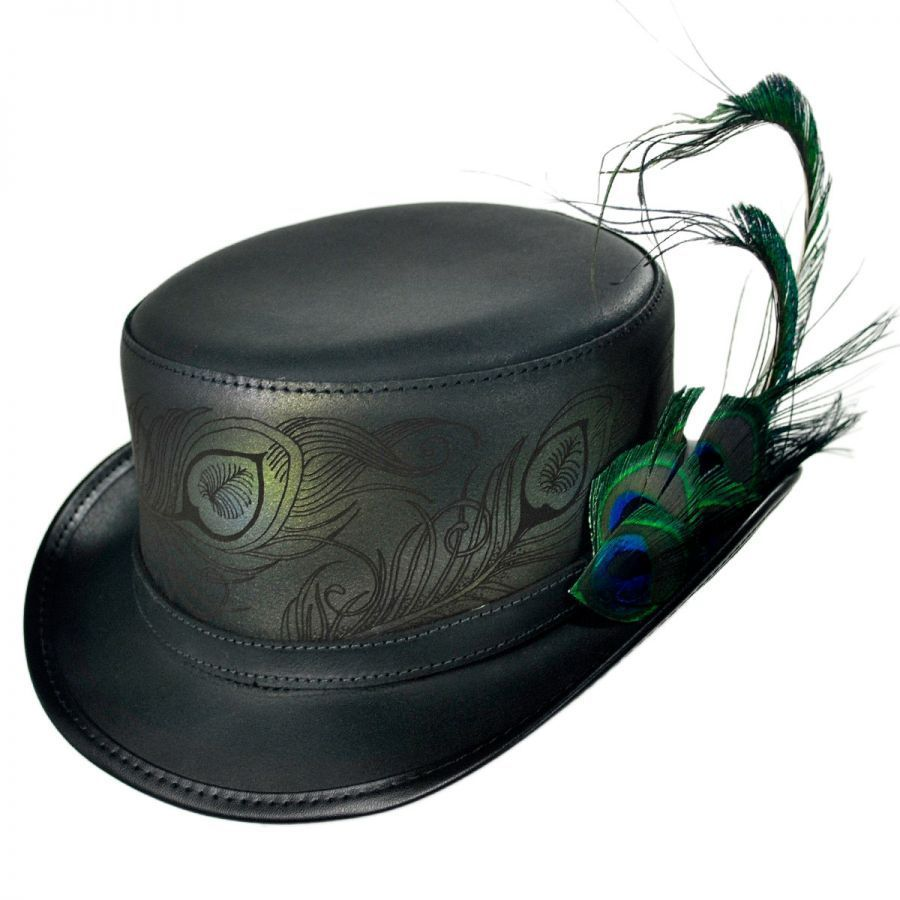 ef28bff163b Head  N Home Strut Leather Top Hat Top Hats