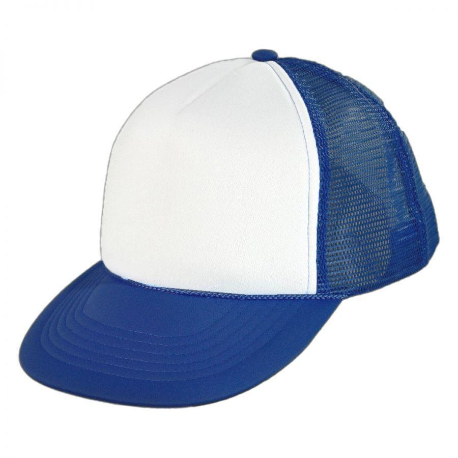 kc caps foam mesh trucker cap blank baseball caps
