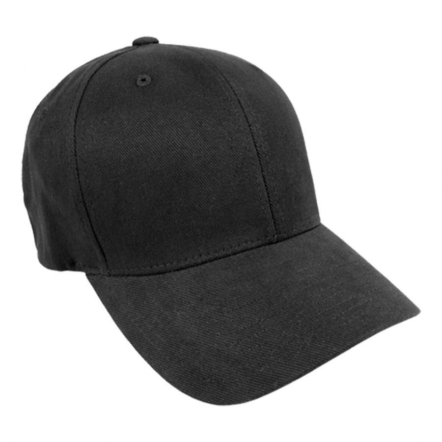 a1639248dac784 Brushed Twill MidPro FlexFit Fitted Baseball Cap alternate view 1