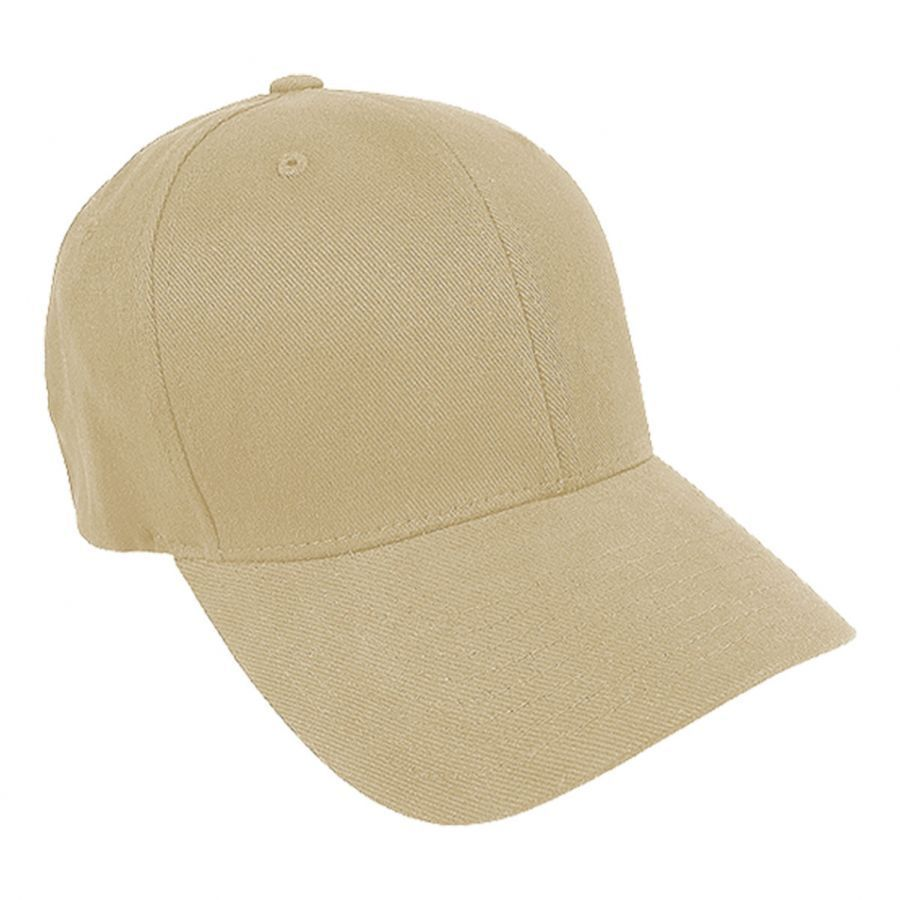 Brushed Twill MidPro FlexFit Fitted Baseball Cap alternate view 2 8aa8438987e