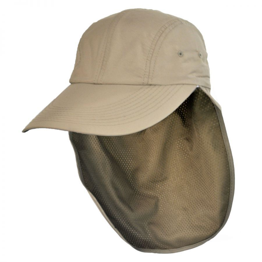 Torrey Hats UPF 50+ Neck Flap Adjustable Baseball Cap Sun Protection c5aa89647