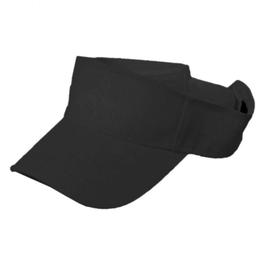 cotton twill visor