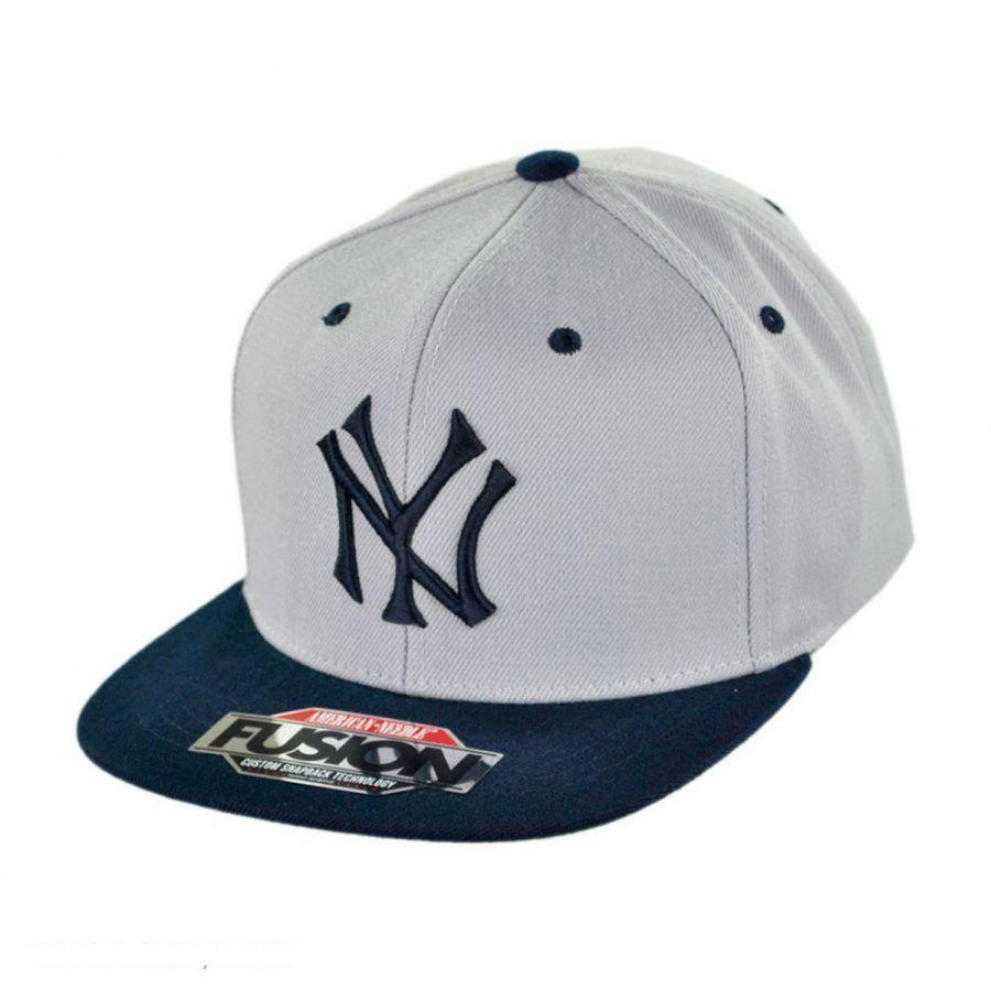 American Needle New York Yankees Mlb Back 2 Front Snapback