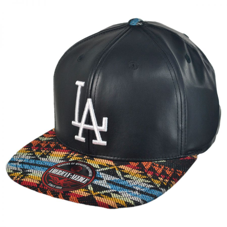 american needle los angeles dodgers mlb sleek strapback