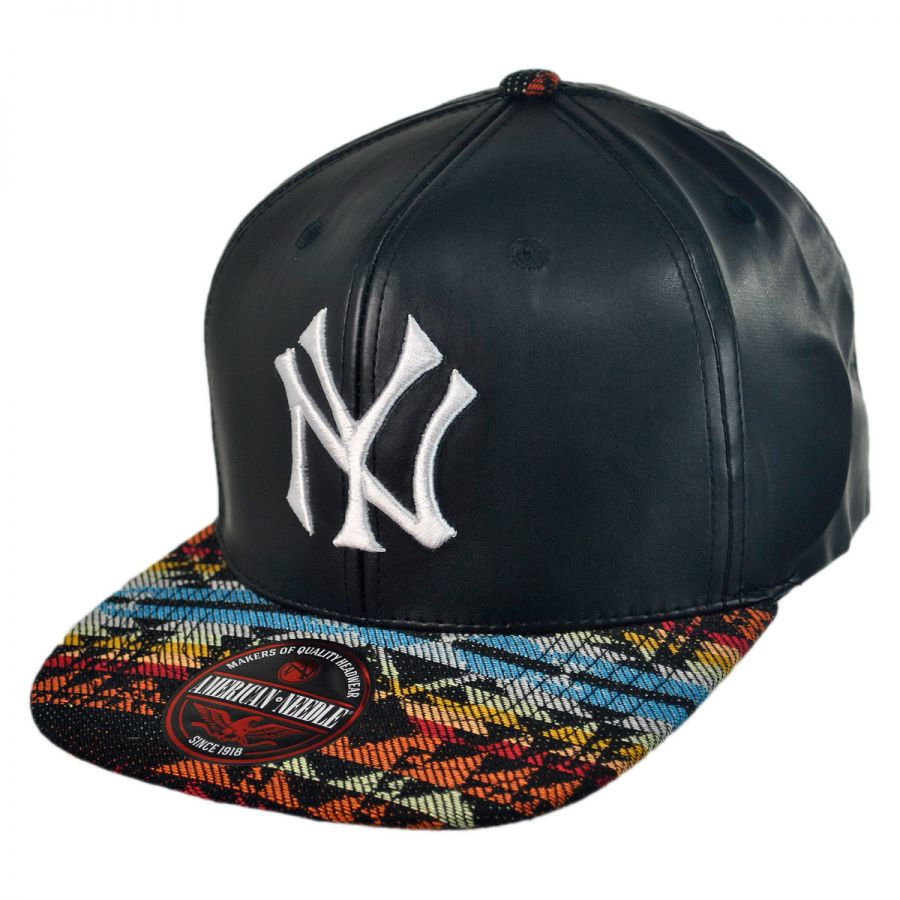american needle new york yankees mlb sleek strapback