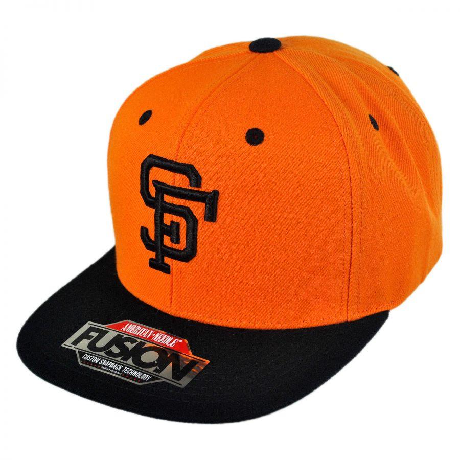 3142b50da1cd6a American Needle San Francisco Giants MLB Back 2 Front Snapback Baseball Cap