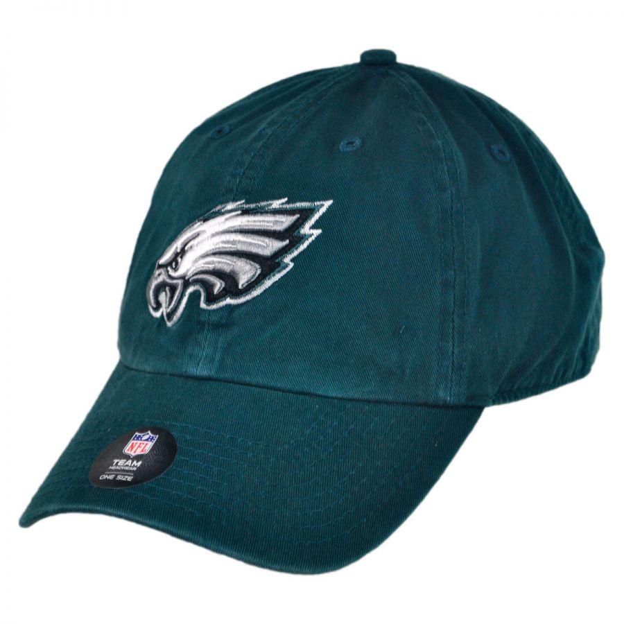 1bb05b56d Philadelphia Eagles NFL Clean Up Strapback Baseball Cap Dad Hat