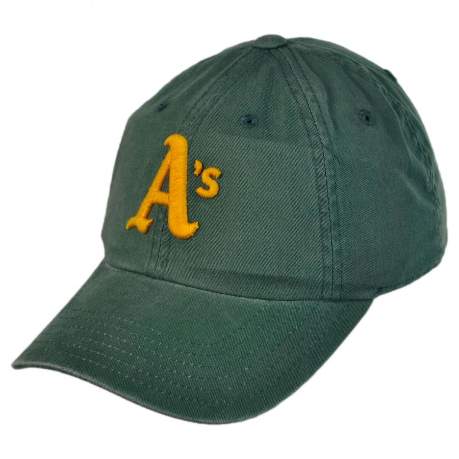 american needle oakland athletics mlb raglan strapback